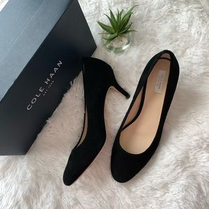 Cole Haan Ava Pump (black suede)